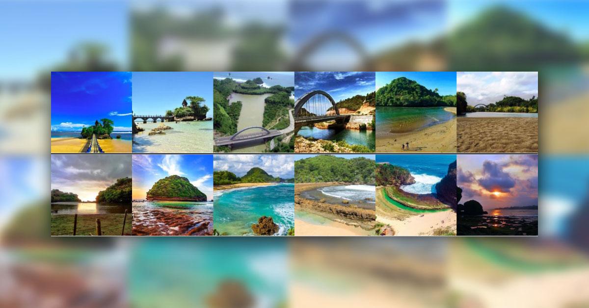 Paket Wisata Explore Pantai Malang Selatan 2h 1m