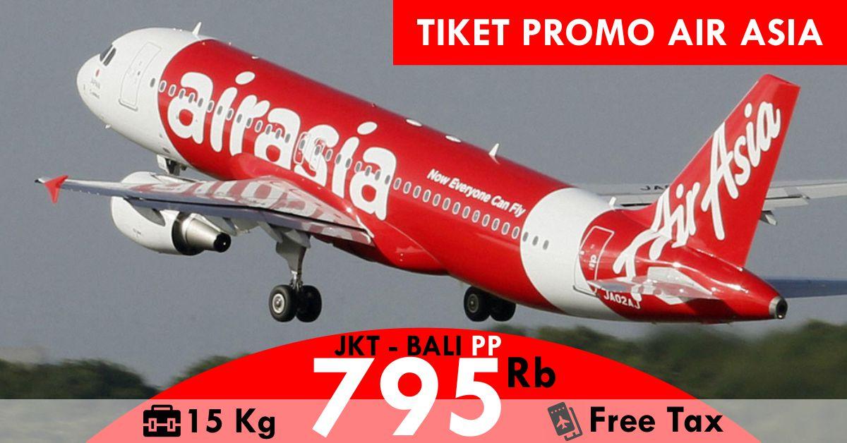 Promo Tiket Pesawat Air Asia Jakarta Bali Murah 2018