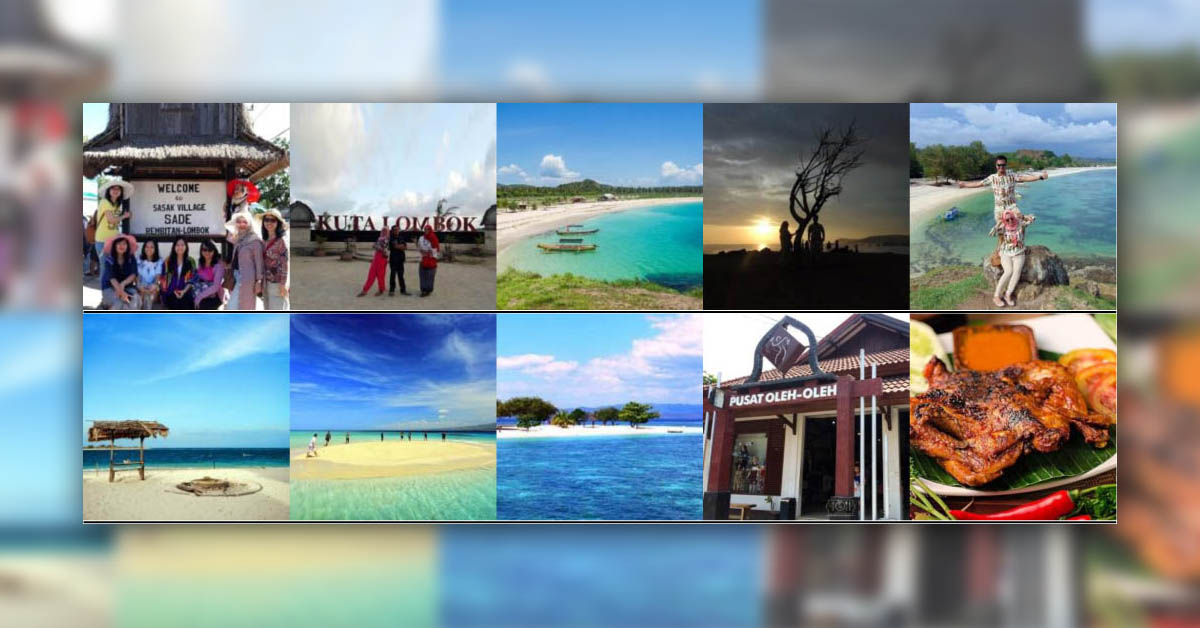 Paket Tour WIsata Liburan Ke Lombok 2 Hari 1 Malam Itinerary A
